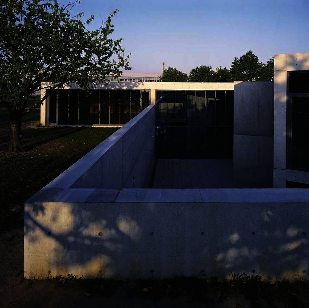 Tadao Ando Conference Pavilion