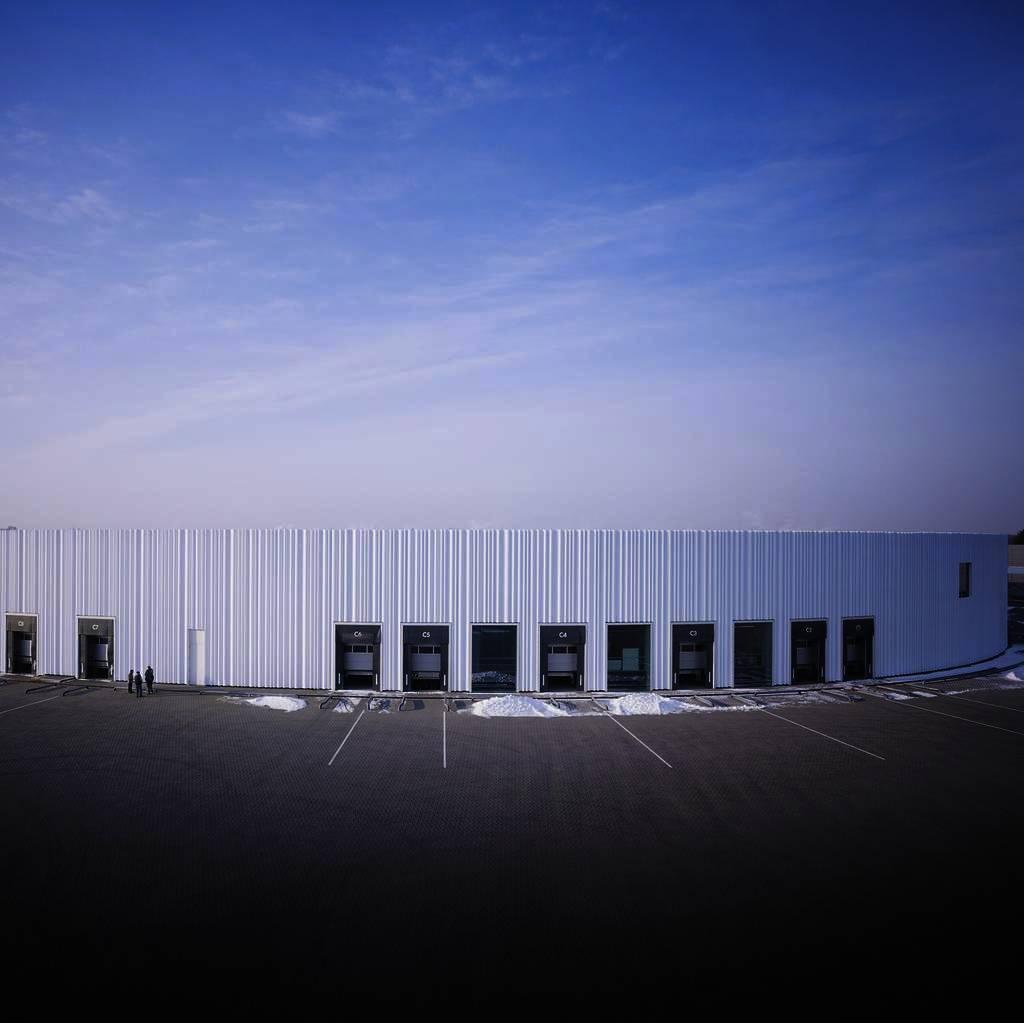 Alvaro Siza Factory Building