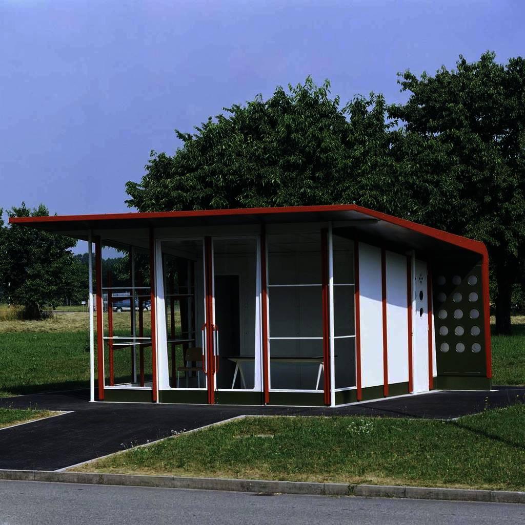 Jean Prouvé Petrol Station