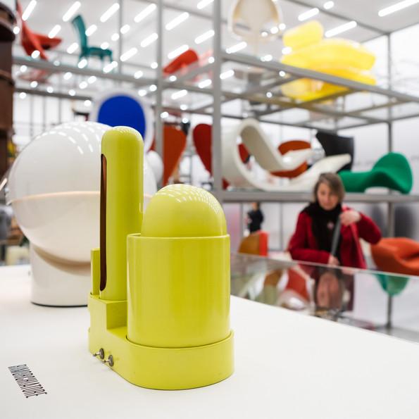 Installationsansicht »Gae Aulenti. Ein kreatives Universum«, Vitra Schaudepot © Vitra Design Museum, Foto: Bettina Matthiessen