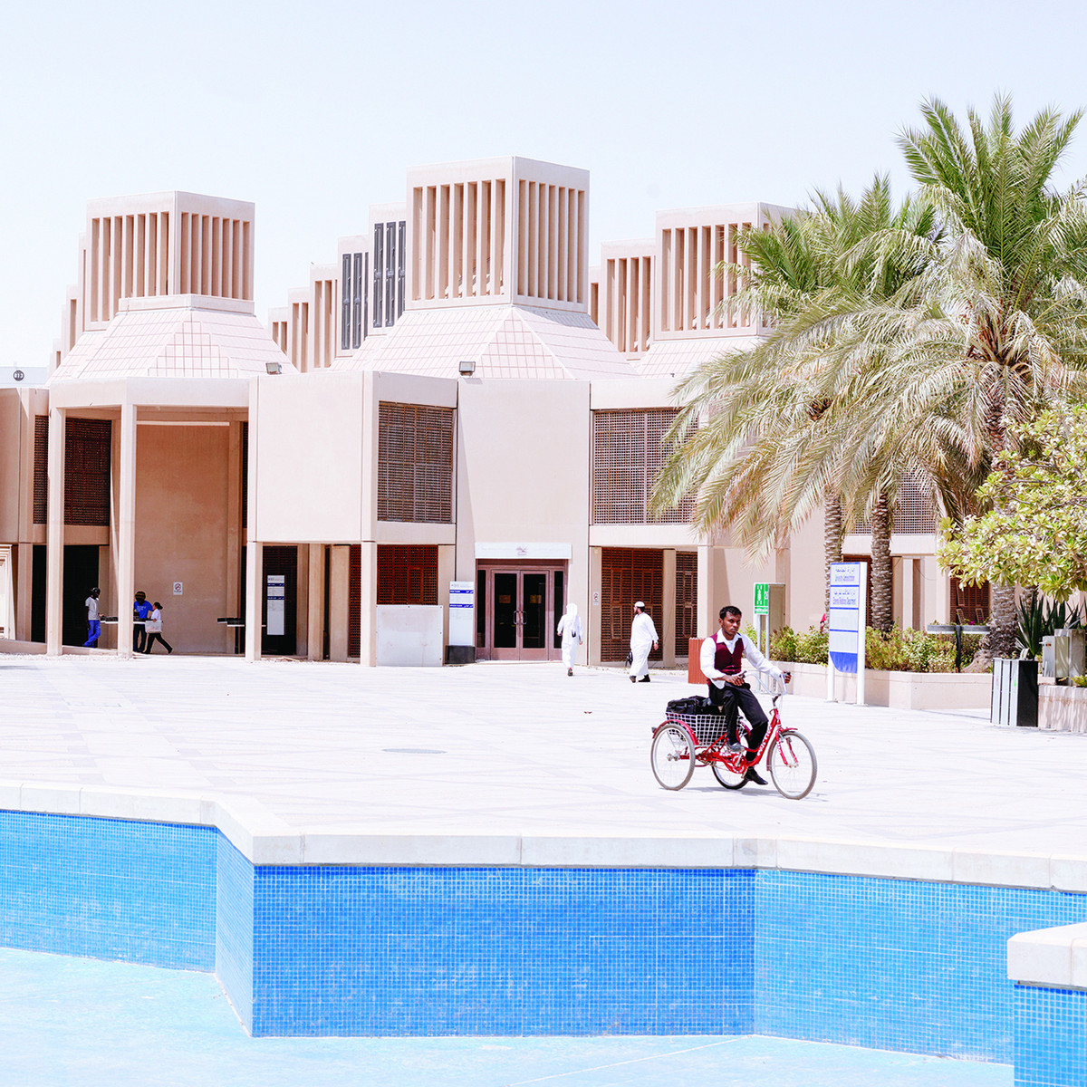 Qatar University in Doha, Qatar Designed by Kamal El Kafrawi, 1974–1983 © Markus Elblaus