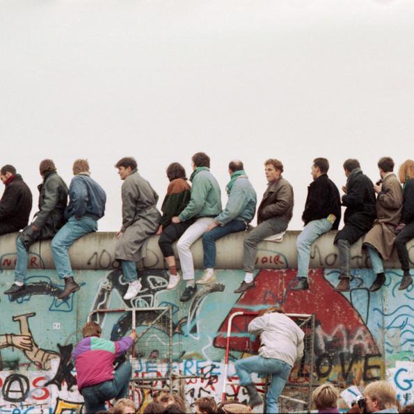 Mauerfall in Berlin, 12. November 1989 © Tim Wegner / laif