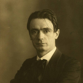 [Translate to English:] Rudolf Steiner Portrait