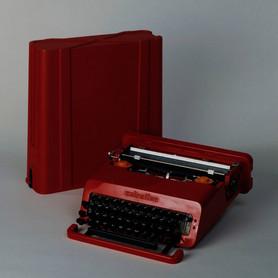 Ettore Sottsass Schreibmaschine Valentine
