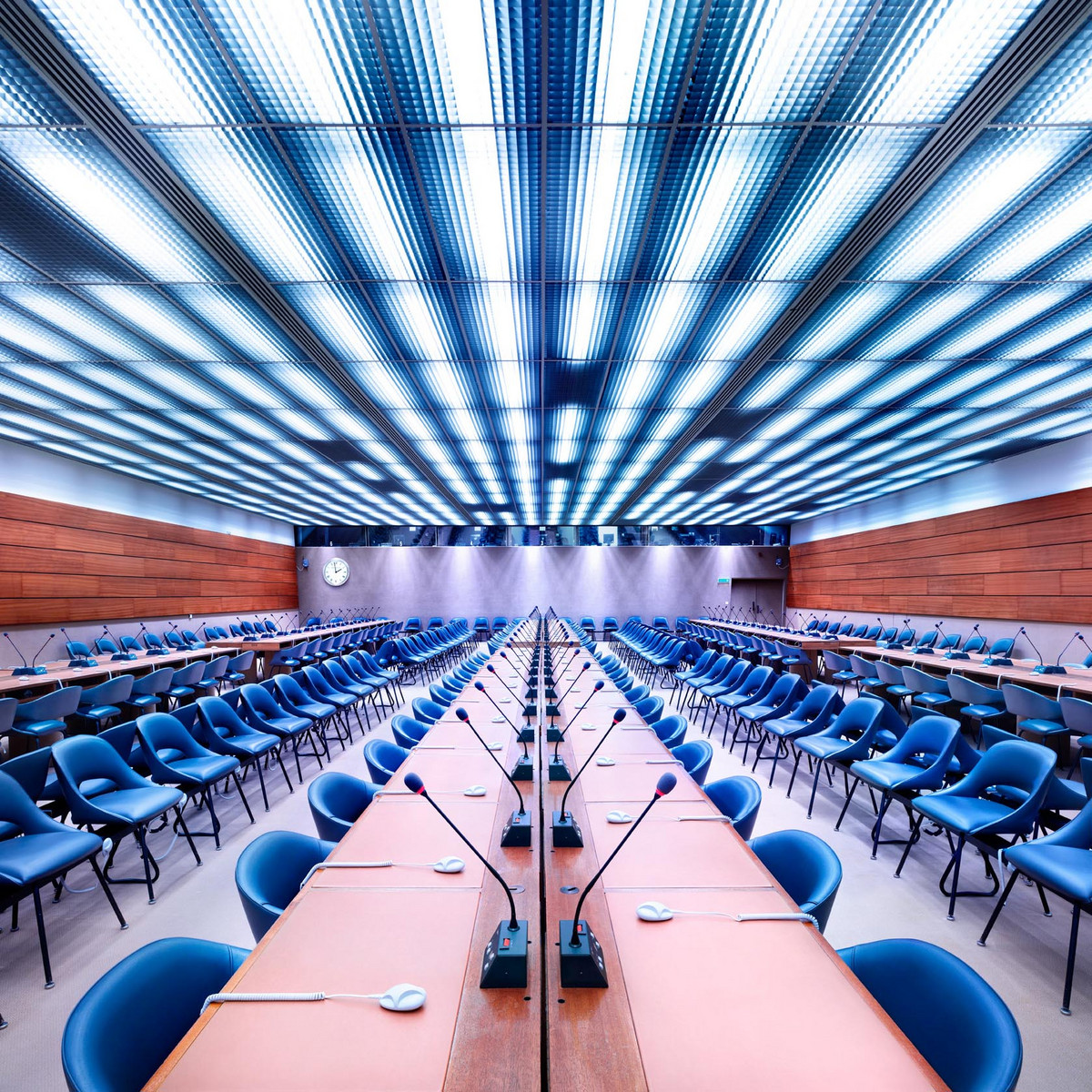 Luca Zanier, UN Room XXIV, Geneva, 2013 (detail) © Luca Zanier