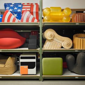 Sammlung im Vitra Schaudepot © Vitra Design Museum, Foto: Florian Boehm