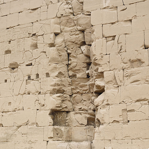 8th Pylon (Karnak, 1458 BCE, Luxor), 2017 © Bas Princen