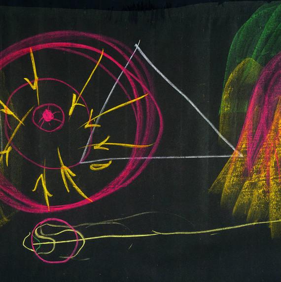 Rudolf Steiner Tafelzeichnung