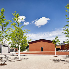 Exterior view Schaudepot, designed by the architects Herzog & de Meuron, photo © Vitra Design Museum, Mark Niedermann