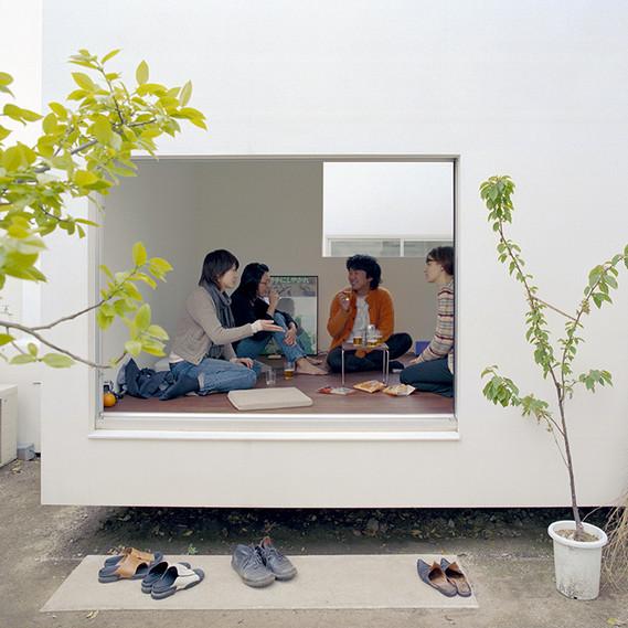 Moriyama House, Tokio. Office of Ryue Nishizawa, Tokio, 2005 © Dean Kaufman