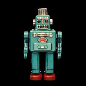 Smoking Robot, Yonezawa, Japan, 1963, 30 cm, collection Rolf Fehlbaum, Photo: Moritz Herzog
