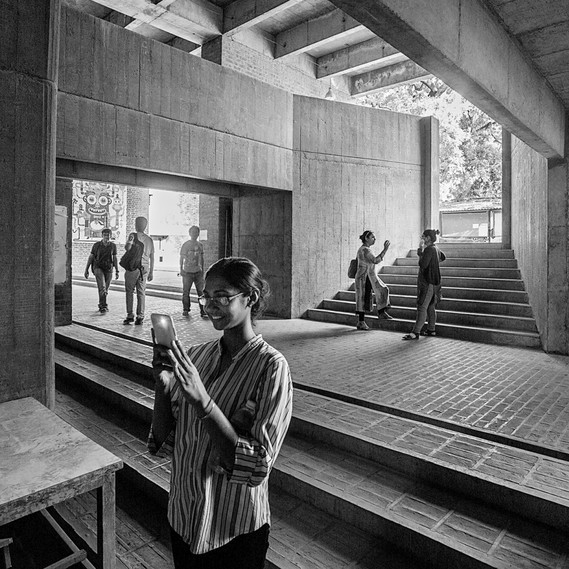 Balkrishna Doshi, School of Architecture, Centre for Environmental Planning and Technology, Ahmedabad, 1968 (Detail) © Vinay Panjwani India