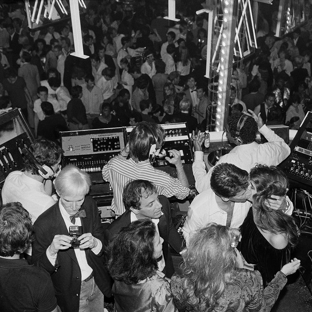 Hasse Persson, Calvin Klein Party, 1978 © Hasse Persson