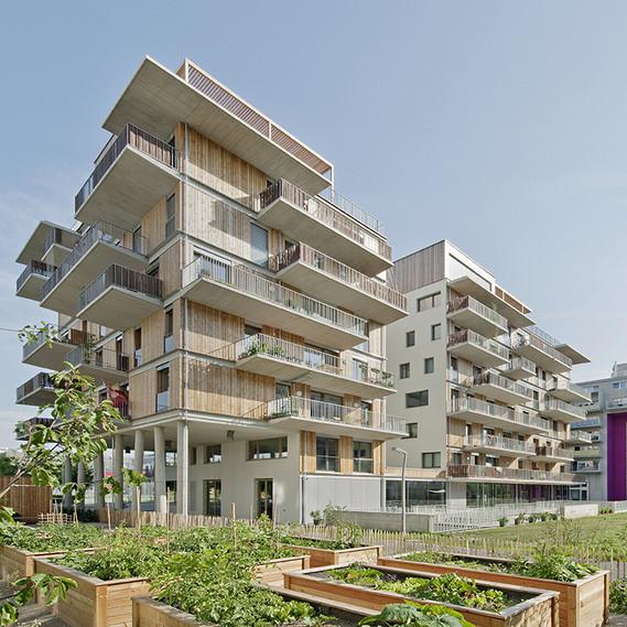 Wohnprojekt Wien, einszueins architektur, 2013 Foto: Hertha Hurnaus