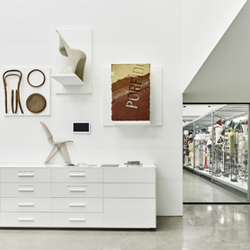 View of the Schaudepot Lab and window to the lamp collection, photo © Vitra Design Museum, Mark Niedermann