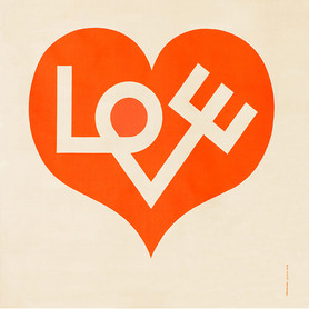 Alexander Girard, Love Heart / Environmental Enrichment Panel #3017 for Herman Miller, 1971, © Vitra Design Museum, Alexander Girard Estate (MGI-3422)