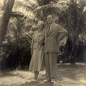 Anton and Irene Lorenz, Boynton Beach, Florida, USA, early 1960s, © Vitra Design Museum, Lorenz Estate, photographer unknown
