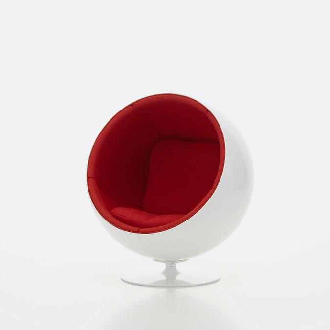 miniature ball chair c vitra photo marc eggimann