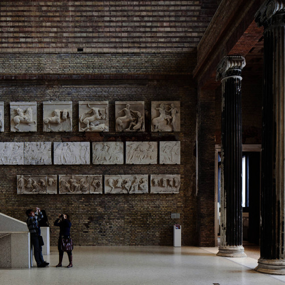 Conversion Project: Neues Museum Berlin, David Chipperfield Architects, 1997– 2009 © Ute Zscharnt für David Chipperfield Architects