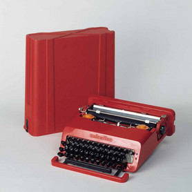 Ettore Sottsass & Perry A. King, Valentine portable typewriter, 1969