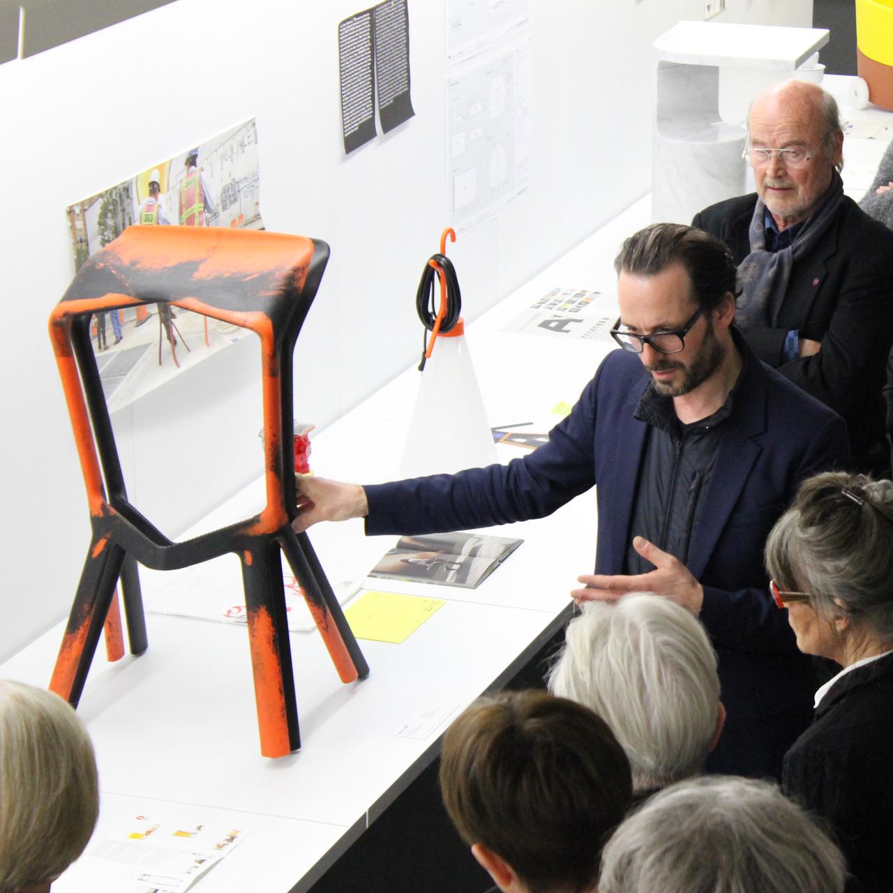 Preview der Ausstellung »Panorama« mit Konstantin Grcic