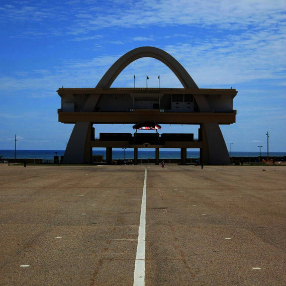 Independence Arch, Accra (Ghana) des/by the Public Works Departments, 1961, Foto/photo: © Manuel Herz