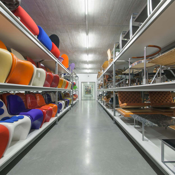 Vitra Design Museum, Collection space, © photo: Vitra Design Museum, photographer: Andreas Sütterlin