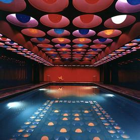 Swimming Pool, Spiegel Publishing House, Hamburg, Germany, 1969, © photo: Panton Design Basel