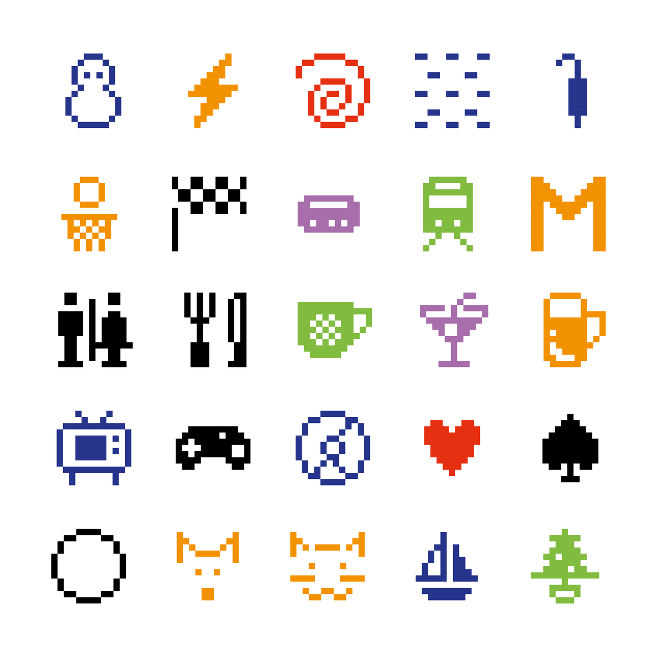 Shigetaka Kurita et al. for NTT DOCOMO INC., Emoji, 1998-99 © NTT DOCOMO, INC.