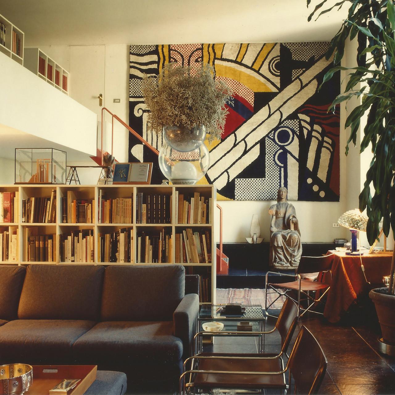Gae Aulentis Wohnung an der Via Fiori Oscuri, Mailand, 1993 Mit freundlicher Genehmigung von Archivio Gae Aulenti, Foto: © Santi Caleca