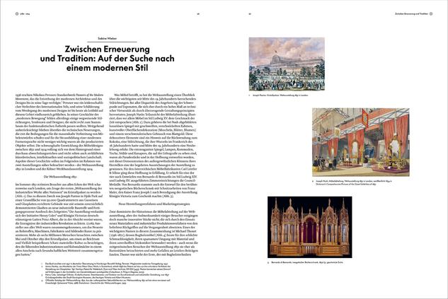 Beispielseite (Essay) aus »Atlas des Möbeldesigns« © Vitra Design Museum, Grafik: Kobi Benezri Studio