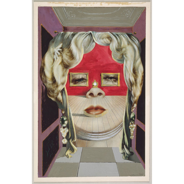 Salvador Dalí, Mae West's Face which May be Used as a Surrealist Apartment, 1934/35 © bpk/The Art Institute of Chicago/Art Resource, NY, Copyright für Werke von Salvador Dalí: © Salvador Dalí, Fundació Gala-Salvador Dalí/VG Bild-Kunst, Bonn 2019