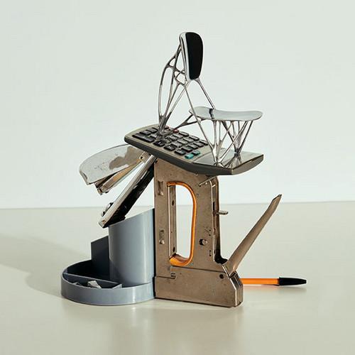 Bone Chair Joris Laarman © Vitra Design Museum, Foto: Nacho Alegre, 2018