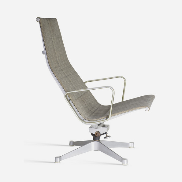 Aluminum Group/Indoor-Outdoor No. 684, Reclining Chair with Arms, 1947/1949 © Vitra Design Museum, Photo: Jürgen Hans