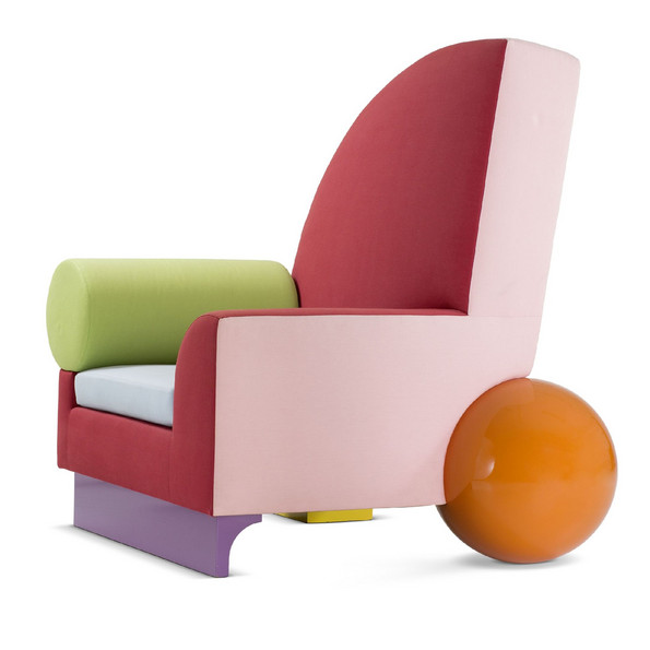 Peter Shire, armchair »Bel-Air«, 1982 © Peter Shire © Vitra Design Museum, photo: Jürgen Hans