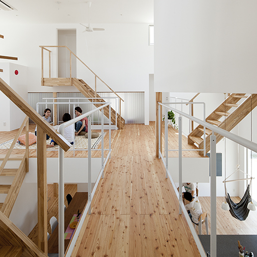 LT Josai, Nagoya, 2013 Naruse Inokuma Architects, Tokio © Masao Nishikawa