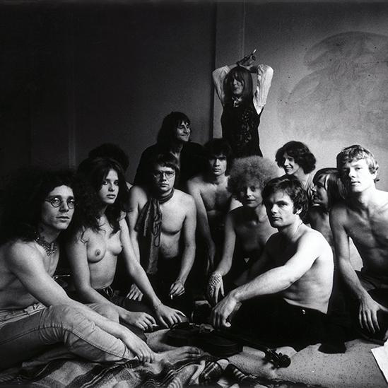 Kommune 1, 1968 © Werner Bokelberg