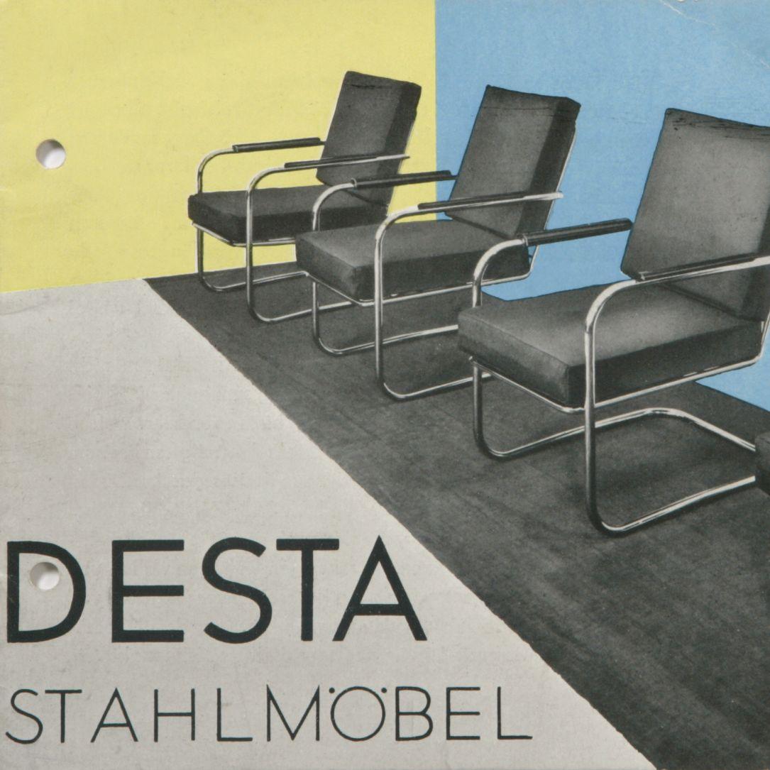 Katalog DESTA Stahlmöbel, 1931 (Grafik: Otto Rittweger, Detail) © Vitra Design Museum, Nachlass Anton Lorenz