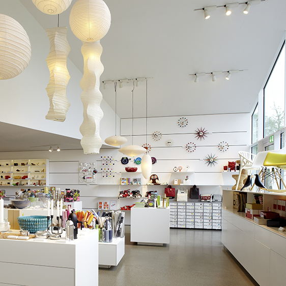 Vitra Design Museum Shop © Vitra, photo: Lorenz Cugini